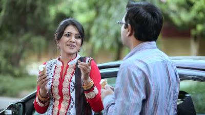 Tahsan and Nusrat Imroz Tisha in a natok
