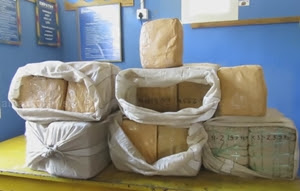 95 kg Ganja recovery in Jaffna : Suspect escaped