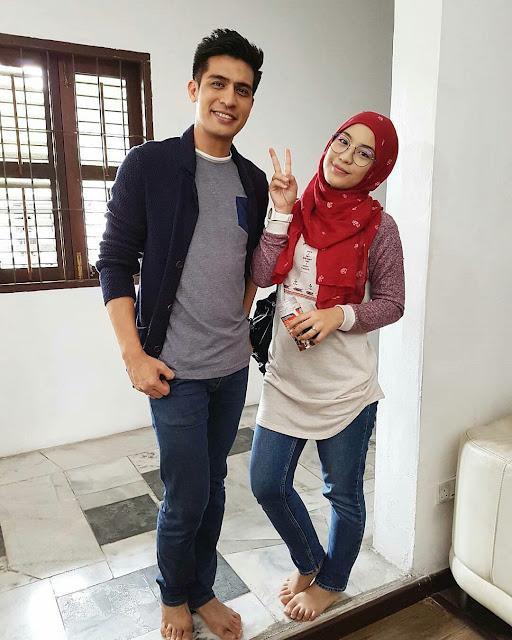 Drama Biar Aku Jadi Penunggu ,Adaptasi Novel Lakonan Janna Nick, Ashraf Muslim
