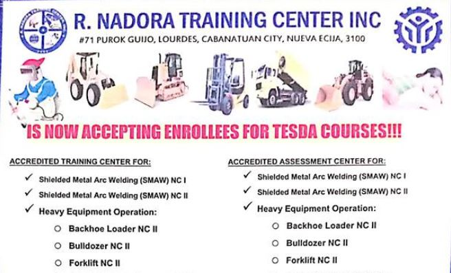 20+ Tesda Training Courses Available for Scholarship | Enroll Now!