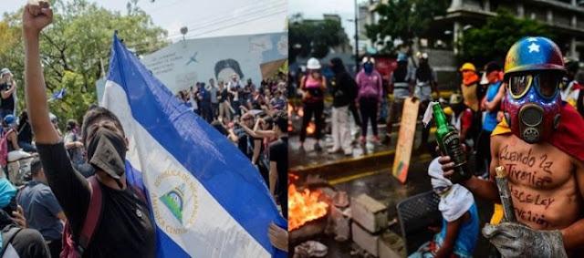 Crisis de Nicaragua y Venezuela: Cinco semejanzas y diferencias