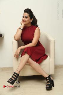 Telugu Tollywood Anchor Manjusha Pos in Red Short Dress  0102.JPG