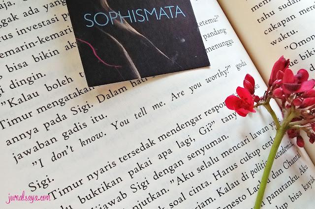 resensi novel sophismata