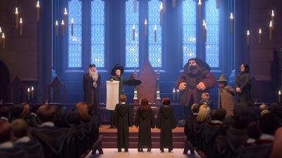 Разпределителна церемония - Harry Potter: Hogwarts Mystery