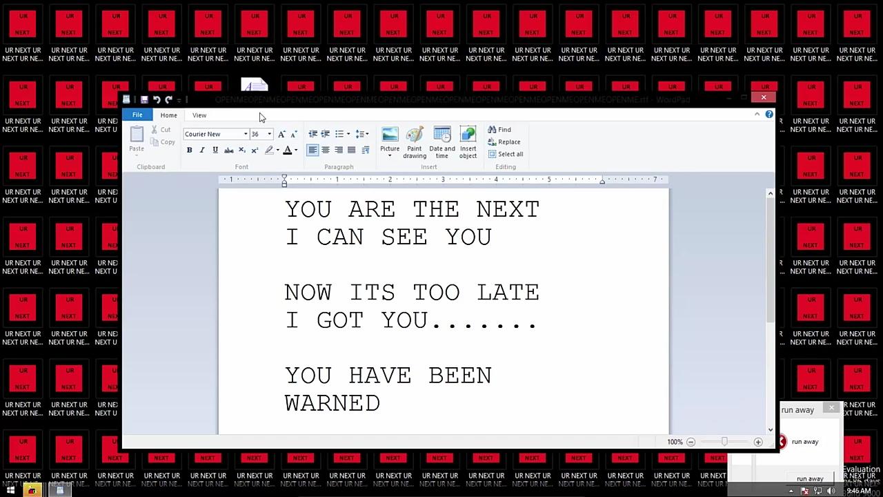 Computer 000 Exe Creepypasta Virus