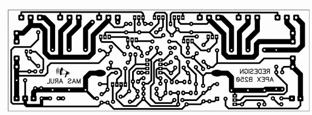 PCB Layout APEX B250