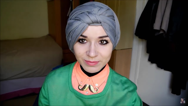 فيديو للمحجبات... أسهل وأجمل طريقة لعمل حجاب العمامة.