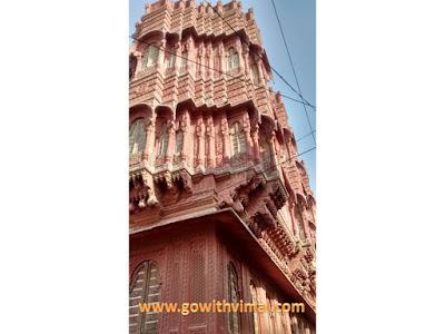Architecture of Rampuria havelis