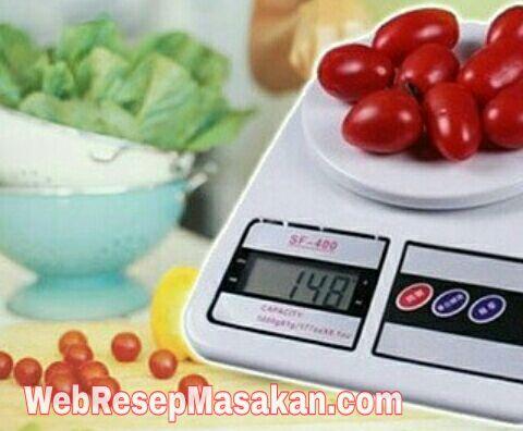 Ukuran takaran bahan kue, Konversi Takaran Resep, konversi takaran dan ukuran resep bahan kue,