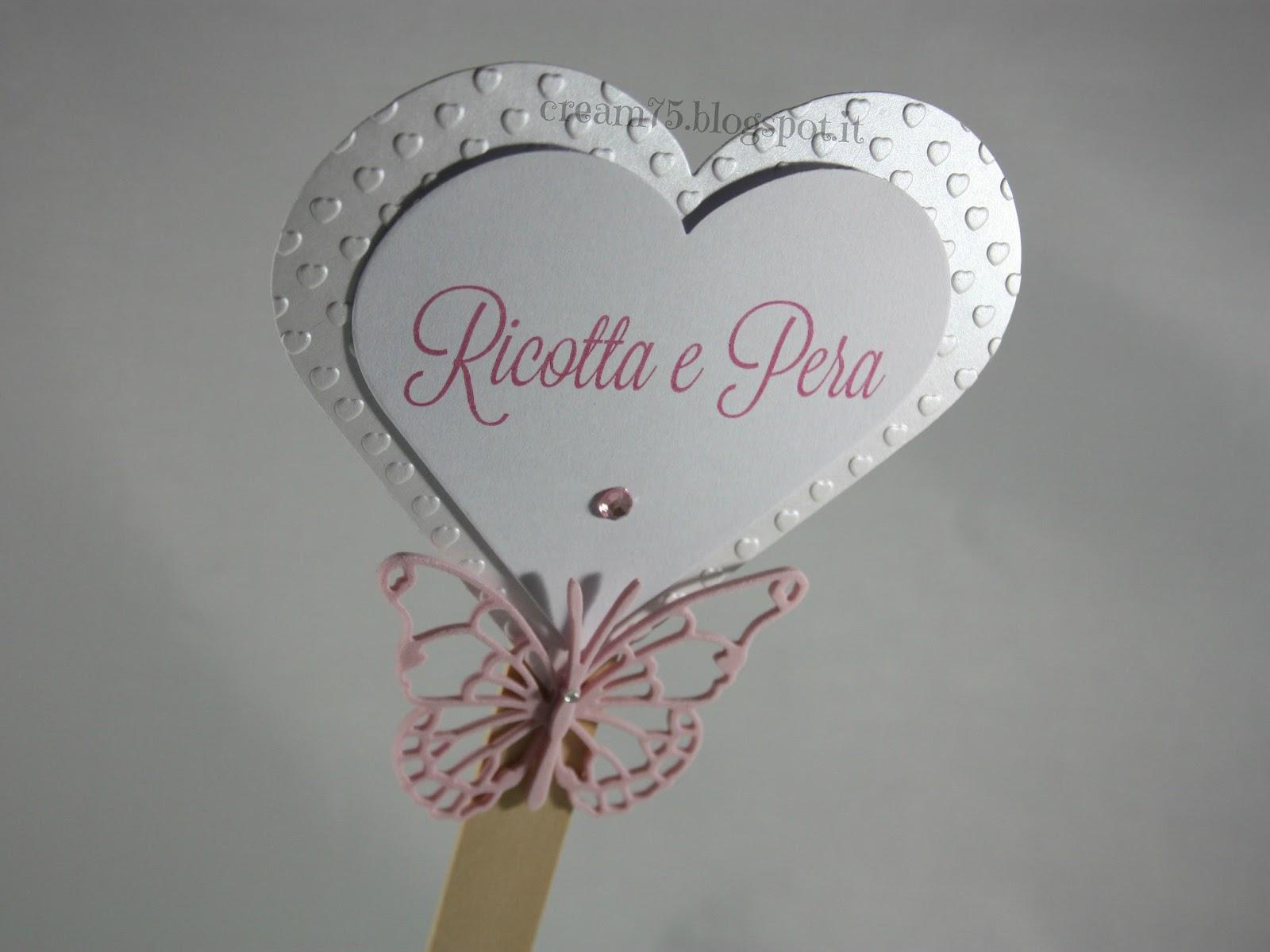 Super My Sweet Blog: Cartellino confettata cuore e farfalla YE04