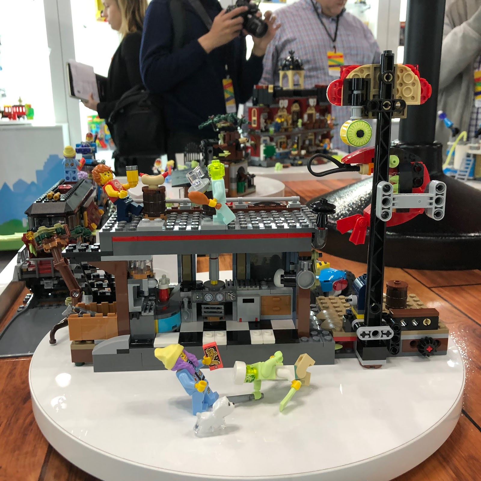 Haunted House Nyc Youtube: Tubey Toys Review: New York Toy Fair 2019 LEGO Hidden Side