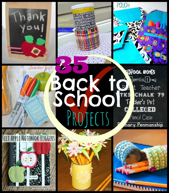 35 Back to school Projects