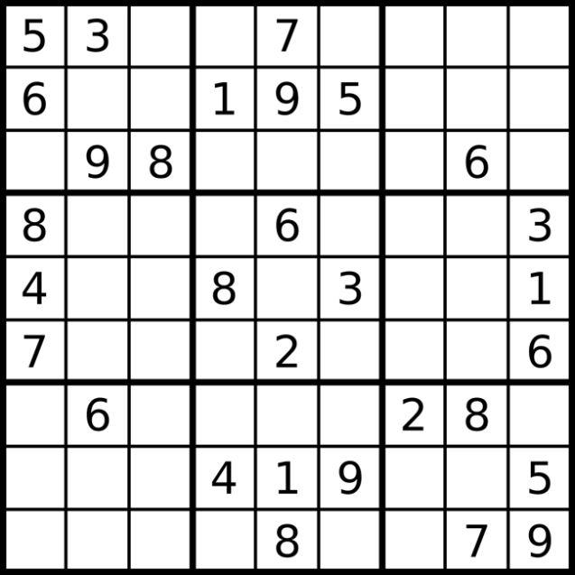 jugar a Sudoku