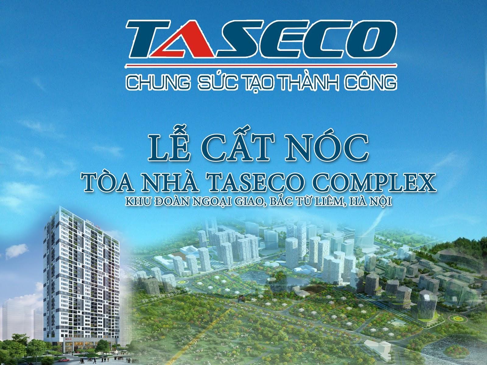 Lễ cất nóc chung cư Taseco Complex - N03T2 Ngoại Giao Đoàn