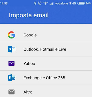 Virgilio su Gmail