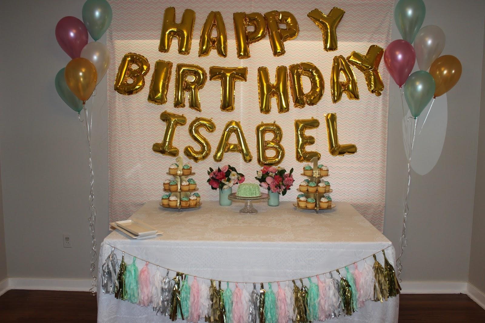 Our Adoption Adventure Izzys 1st Birthday Party