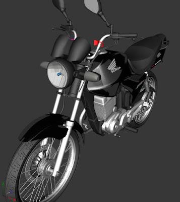 GTA SA - CG 150 BLACK