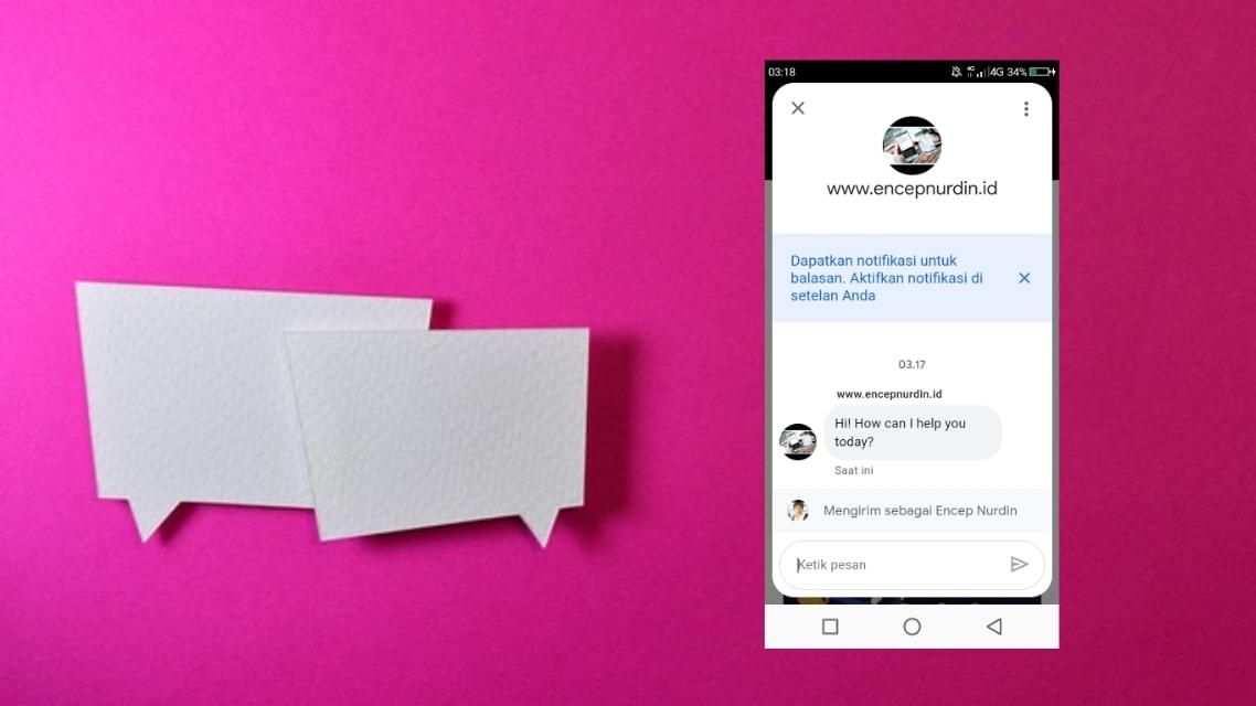 Cara Membuat Live Chat Messaging Google Bisnisku Di Blog