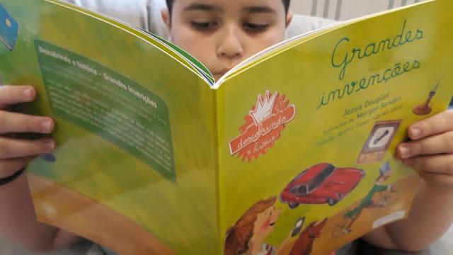Livro Infantil Grandes Invenções.
