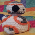 http://www.ravelry.com/patterns/library/mini-bb8-amigurumi