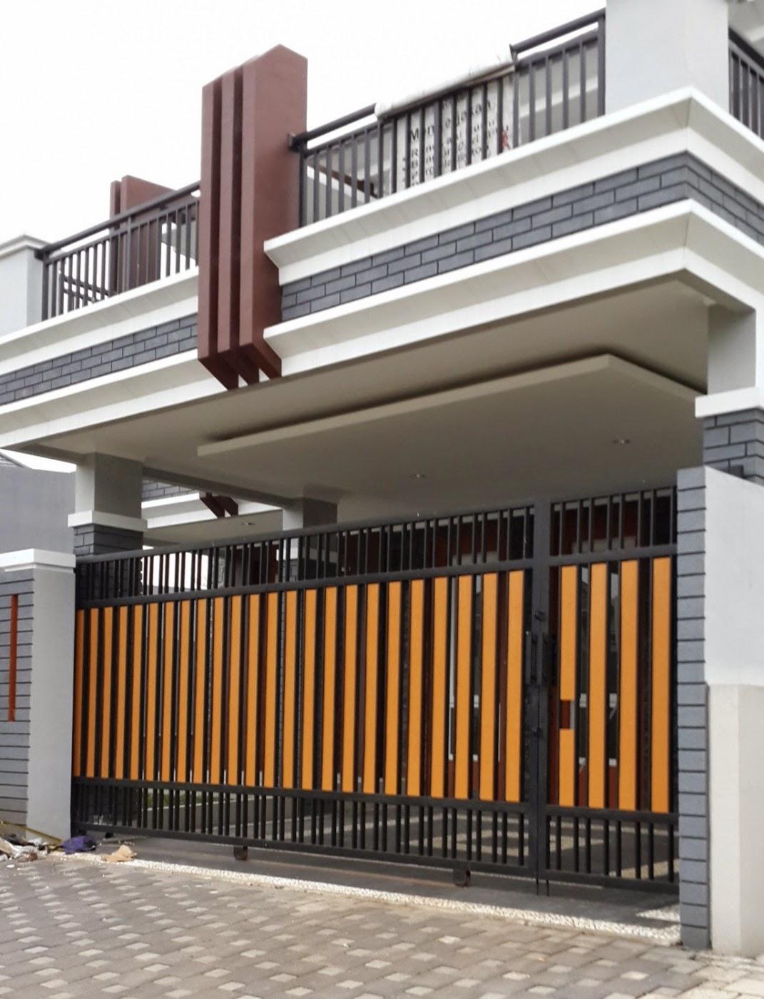 Model Pagar Rumah Type 36/72 | Desain Rumah Minimalis ...