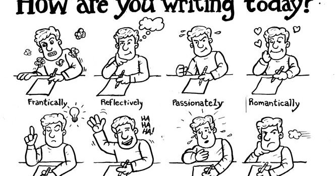 Extra points of culture: Types of writing