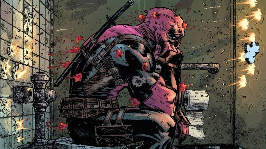 Deadpool, Marvel, Anti-Hero, 4K, #6.1156