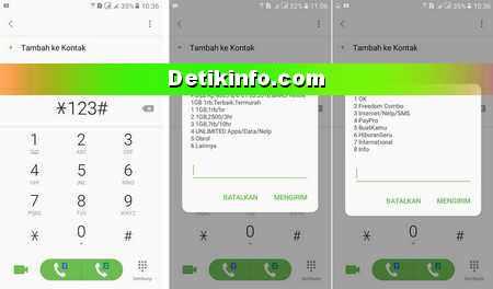 Cara Cek Kuota Paket Yellow Im3 Indosat Detik Info