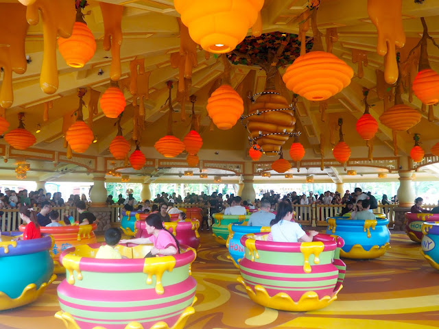 Hunny Pot Spin, Shanghai Disneyland, China