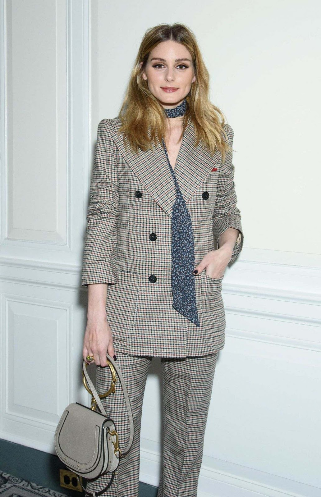 Olivia palermo the fragrance foundation awards finalists luncheon in ny