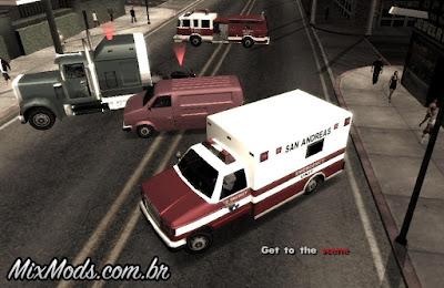 mod ocorrência de ambulância gta sa