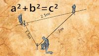 طريقة تحيدد  زاوية قائمة بدون ادوات هندسية