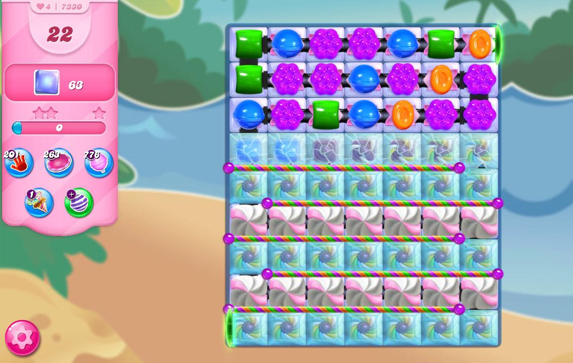Candy Crush Saga level 7330