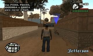 Imagens CJ jogo (GTA-SAN ANDREAS PS2 pt-br) site JSV