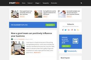 StartSeo - Blogger Template