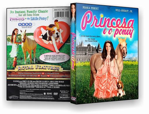 DVD-R A Princesa e o Poney – AUTORADO