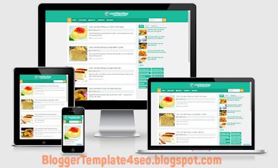 Template blogspot chuẩn seo cực đỉnh dành cho blogger