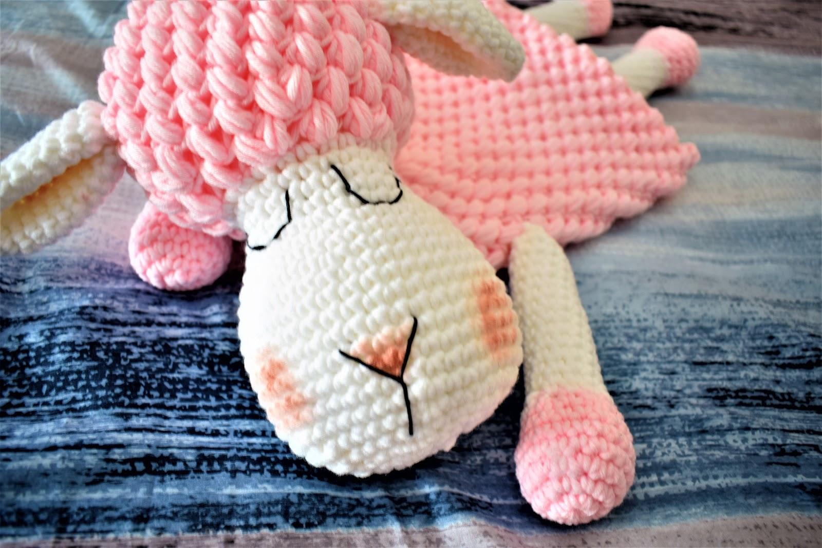 Crochet Cute Puff Sheep (con imágenes) | Amigurumi patrones gratis ... | 1067x1600