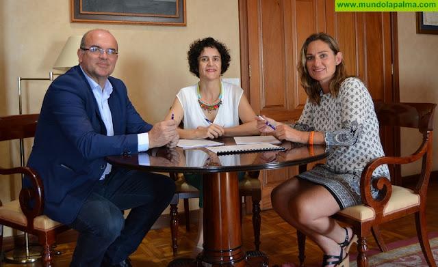 El Cabildo apoya la atención integral a enfermos de párkinson en La Palma