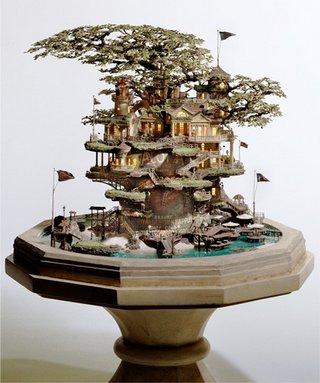 foto pohon terunik di dunia