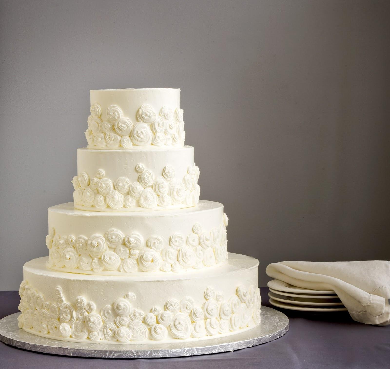 Three New Wedding Cake Ideas