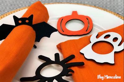 ideas decoración mesa halloween manualidades con niños blog mimuselina