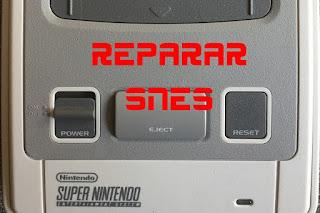 snes reparacion