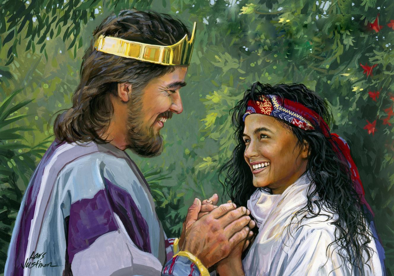 The Songs of Solomon were written by Solomon.