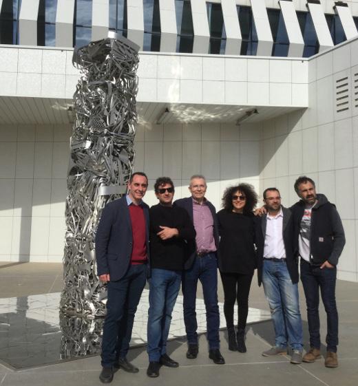 El aeropuerto de Castellón ha puesto en marcha una nueva exposición pictórica y escultórica en el marco del proyecto 'Sala 30', que se desarrolla de forma conjunta con el Museu d'Art Contemporani 'Vicente Aguilera Cerni' (Macvac) de Vilafamés.