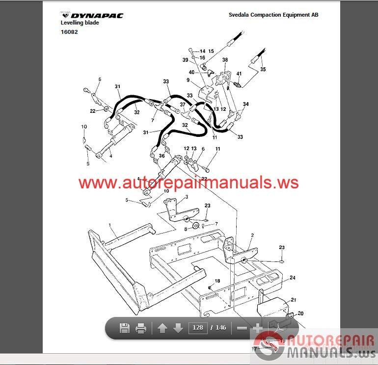 free auto repair manual   dynapac canada