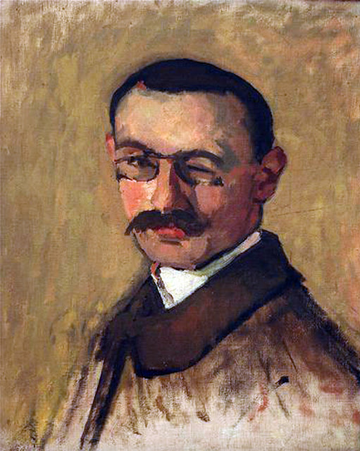 Albert Marquet, Self Portrait, Portraits of Painters, Fine arts, Portraits of painters blog, Paintings of Albert Marquet, Painter  Albert Marquet