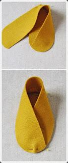 Keçe Kumaştan Bebek Patik Yapımı, Resimli Açıklamalı 3