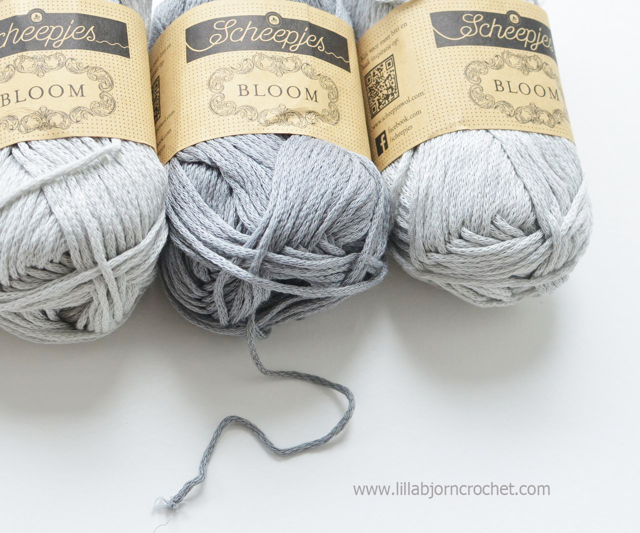 Bloom from Scheepjes - yarn review by Lilla Bjorn Crochet