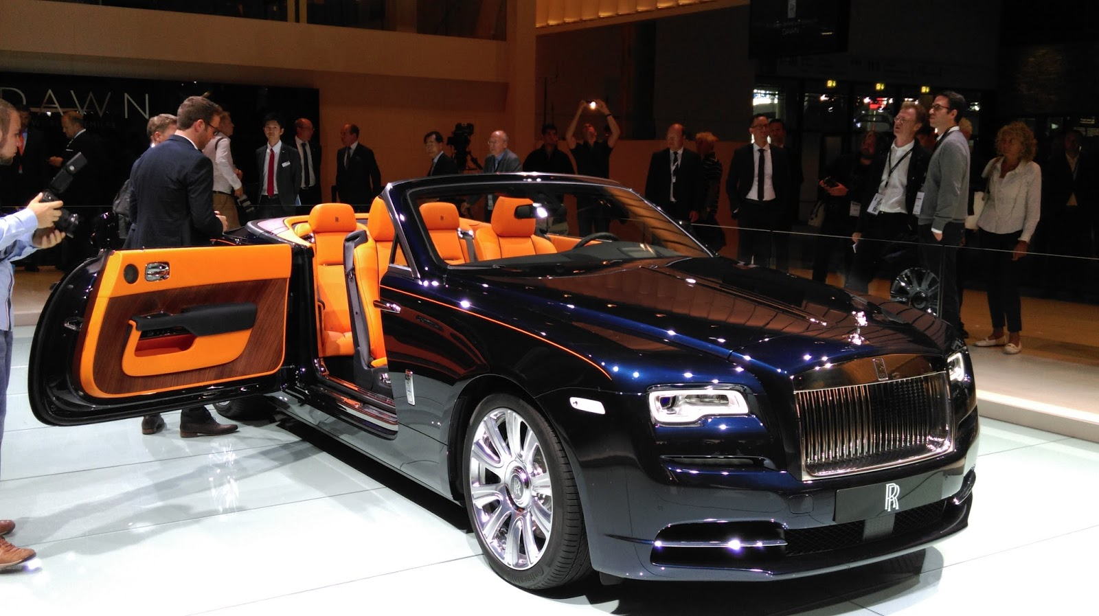 Rolls Royce Dawn Launched Digitechind In